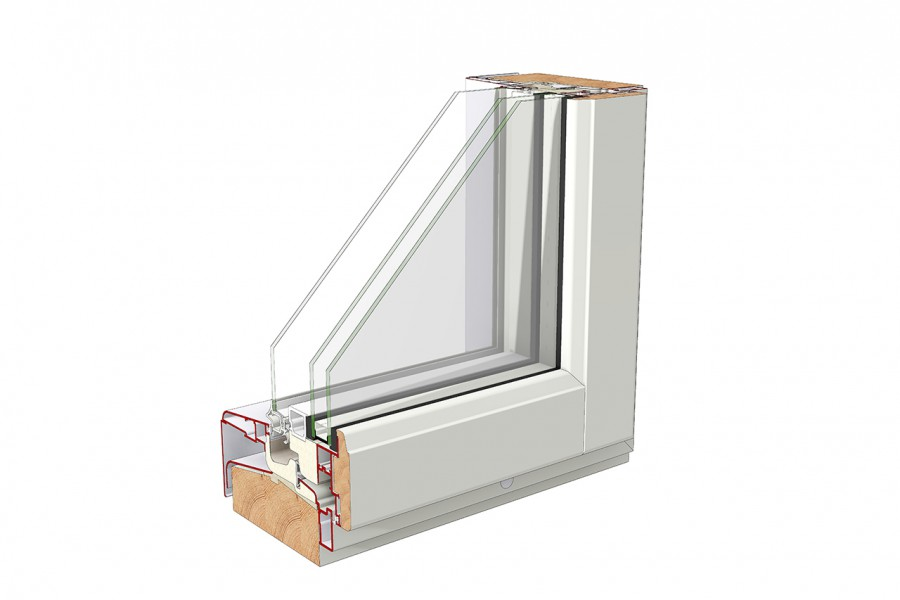 New Timber Aluminium Window